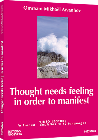 DVD NTSC - Thought needs feeling in order to manifest