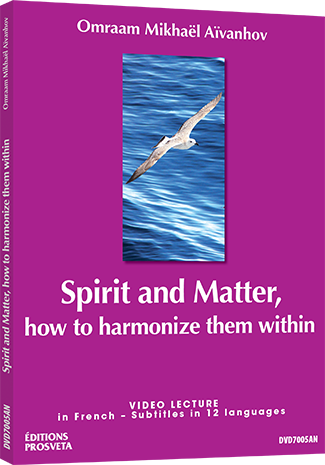 Spirit and Matter - how to harmonize them within - DVD NTSC