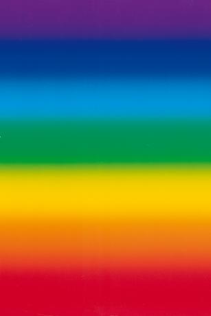 The Rainbow -  Size 34 x 100 cm