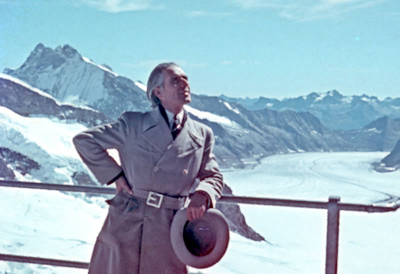 1958 dans les Alpes